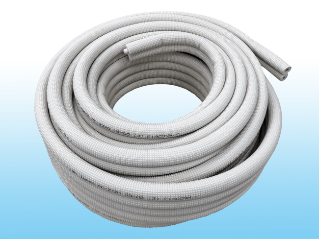 エアコンの配管の画像